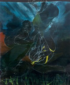 Sharks and Minnows - Maximilian Toth (2009) #contemporary art #painting #art