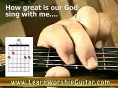 """Christian Guitar Chords - """"How Great Is Our God"""" - YouTube"""