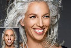 7 Gorgeous Gray Hair Makeovers - Oprah.com