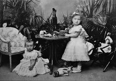 (1898) The Grand Duchesses Tatiana and Olga Nikolaevna of Russia