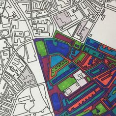 Maps join adult colouring in