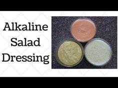 Salad Dressings Dr. Sebi Alkaline Electric Recipe - YouTube