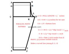 Latest Salwar Pants -{FREE} patterns - with Easy sewing instructions - Sew Guide Learn all about stitching salwar pants – Dhothi pants, Patiala Pants, Palazzo pants and churidhar Pants Pattern Free, Free Pattern, Plazzo Pants Pattern, Clothing Patterns, Sewing Patterns, Shirt Patterns, Patiala Pants, Pencil Skirt Tutorial, Salwar Pattern