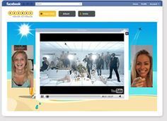 Rounds: Video Chat Rounds   Facebook Application Preview. This is a Facebook app that allows you video chat directly from your Facebook site.