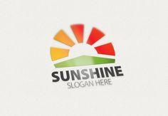 Sun / Sunshine Logo by eSSeLogo on Creative Market
