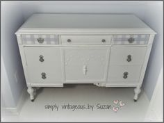 simply vintageous...by Suzan: A little more Gingham .....................Love this!