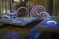 Cool video about Light Art & how to make it DIY style. LED lights essential, yeah, we got that!