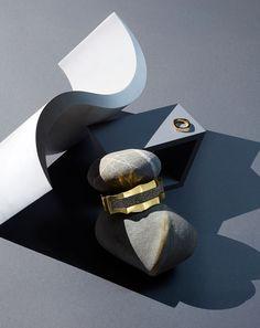Annette Masterman Jewellery Editorial. Elements, Salt Magazine. Still Life Set Design