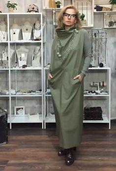 ЖЗ111: Платье из итальянского хлопка с трикотажными рукавами, размер over size до 50/52. Nimble. Украшения, Испания.