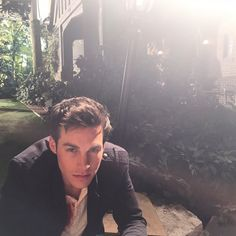Behind the Scenes of The Vampire Diaries : Chris Wood as Kai Parker