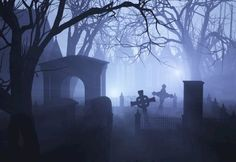 To find the origin of Halloween, you have to look to the festival of Samhain in Ireland's Celtic past…As the last day of the year, the time when the souls of the departed would return to their former homes and when potentially malevolent spirits were released from the Otherworld and were visible to mankind. Origin Of Halloween, Irish Halloween, Architecture Religieuse, Old Cemeteries, Graveyards, Most Haunted Places, Spooky Places, Cemetery Art, Cemetery Statues