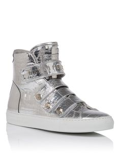 "PHILIPP PLEIN High Sneakers ""Burnt"". #philippplein #shoes #"
