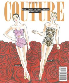 COUTURE: Sublime Fashions of the 1950s Paper Doll Book: Jim Howard, Paper Dolls: 9781935223498: Amazon.com: Books