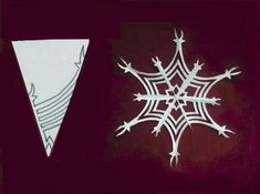 How to Make Paper Snowflakes – Craft projects for every fan! Paper Snowflake Designs, Snowflake Craft, Paper Snowflakes, Snowflakes Diy Template, How To Make Paper, Crafts To Make, Diy Paper, Paper Crafts, Free Paper