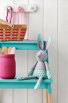 Quilt-eared bunny toy | Easter sewing ideas | Simply Sewing