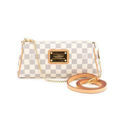 Louis Vuitton Damier Azur Hampstead Pm Authentic Pre Owned Products Pinterest
