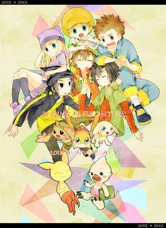 Digimon Frontier <3