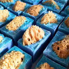 Ocean Sea Sponge Soap by TwoWildHares on Etsy