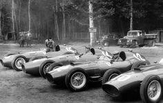 Ferrari 801s @ 57 French Grand Prix