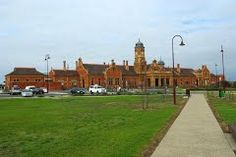 Historic Maryborough Station - Google Maps Back In Time, Trains, Maps, Restoration, Mansions, House Styles, Places, Google, Mansion Houses