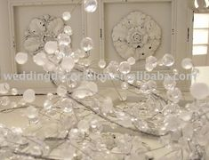 Acrylic Bead Garland, View wedding beaded garland, Best Product Details from Yiwu BestThings Ornament Co., Ltd. on Alibaba.com