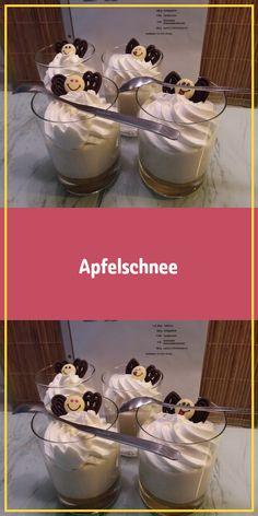 Apfelschnee kl Glas g Pkt EL Apfelschnee kl Glas g Pkt EL Anja Semar a semar rezepte Apfelschnee kl Glas g Pkt EL Schokolade Schokoladenstreusel Apfelschnee Anja Semar Apfelschnee kl Glas g Pkt EL Schokol Diabetic Desserts, Apple Desserts, Gluten Free Desserts, Easy Desserts, Delicious Desserts, Dessert Recipes, How To Make Pudding, Spicy Tomato Sauce, Thermomix Desserts