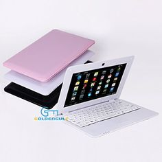 "Goldengulf 10"" inch Mini LAPTOP Netbook Android Computer Notebook Wifi 3G Camera Goldengulf http://www.amazon.com/dp/B00BPMGJJ8/ref=cm_sw_r_pi_dp_zuQVub1NT5ZRE"