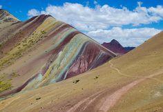 Day trips to the Rainbow Mountain, Cusco Peru