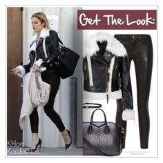 """""""Get The Look: Khloe Kardashian"""" by chocolate-addicted-angel ❤ liked on Polyvore featuring Givenchy, Burberry, women's clothing, women's fashion, women, female, woman, misses and juniors"""