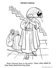 Easter Story Coloring pages Storia di Gesu Pinterest