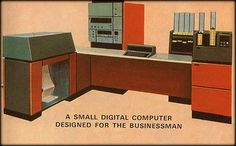 A small digital computer designed for the businessman.
