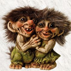 Ny Form Trolls. Just look how sweet they are!
