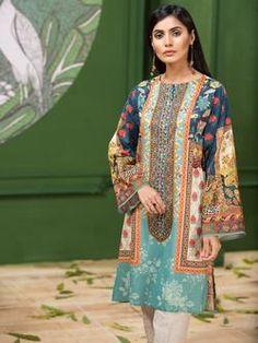 Buy Latest Lawn Suits Collection 2019 Online in Pakistan Pakistani Fashion Party Wear, Pakistani Couture, Pakistani Girl, Indian Fashion, Pakistani Lawn Suits, Pakistani Dresses Casual, Pakistani Dress Design, Eastern Dresses, Textile Prints