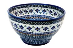 Mosaic Flower Footed Bowl