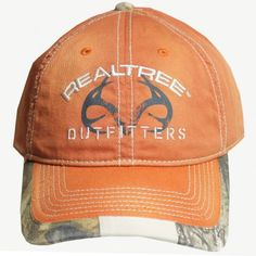 #New Realtree Outfitters Orange Cap $15.99