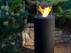 Modern Outdoor Fireplaces – The Best Outdoor Decorations | DigsDigs