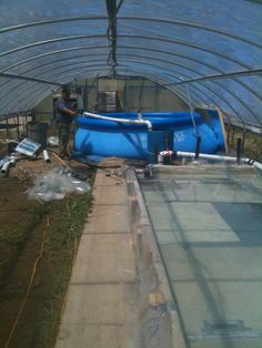 Aquaponics Commercial Fish Tanks | Visit my personal DIY Aquaponics setup at http://www.davaoaquaponics.com/blog/