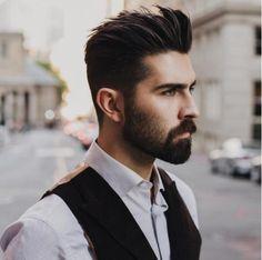 #MenStyle Barba e Cabelo. Os homens cada dia mais exigentes com o visual  #mens #menstylehair  @chrisjohnmillington ✂️