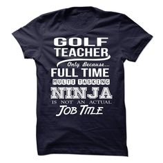 GOLF-TEACHER - Job title