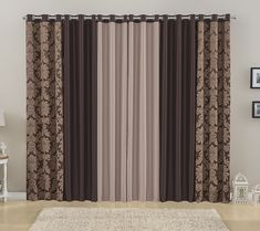 Elegant Curtains, Gold Curtains, Modern Curtains, Diy Curtains, Living Room Designs, Living Room Decor, Chic Master Bedroom, Rideaux Design, Living Room Turquoise