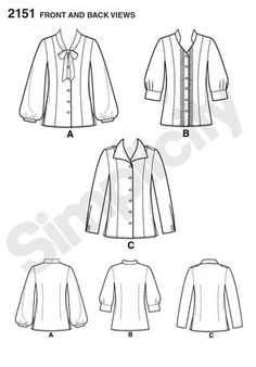 Pattern Reviews> Simplicity> 2151 (Misses/Petite Blouse)