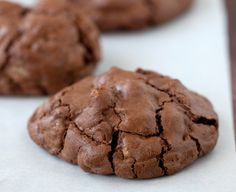 Chocolate Sour Cream Cookies - Daisy Brand I made these with my Mom last Christmas.so yummy! Cookie Desserts, Cookie Recipes, Dessert Recipes, Diet Recipes, Yummy Treats, Sweet Treats, Yummy Food, Delicious Recipes, Shortbread