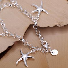 Cute Design Starfish Shape Bracelet For Women