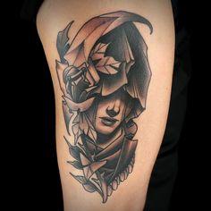 Black & Gray Tattoo by Tiffer Wright See Tattoo, Gray Tattoo, Ink Master Seasons, Permanent Tattoo, Black And Grey Tattoos, Cool Art, Piercings, Tattoo Designs, Art Pieces
