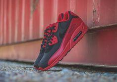1f740c772c87 Nike Air Max 90 Winter PRM Gym Red Black