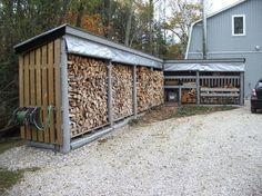 Get inspired from our collection of outdoor firewood storage ideas of how to store the firewood in the way to keep it dry and easy to get it.