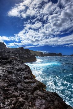 The Lava Coast of Maui, Hawaii ~ photo by W. Brian Duncan ~ check out his beautiful HDR pictures at  batteredluggage.com