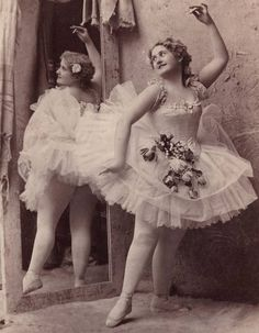 These were the days were ballet dancers were praised for looking like this. What happened?