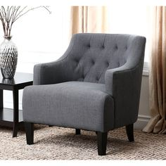 Abbyson Living Davis Fabric Armchair