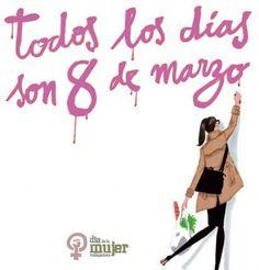 dia de la Mujer.... todos los dias..